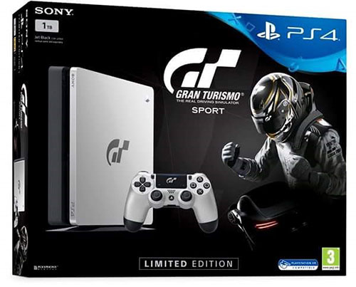Sony Playstation 4 Slim 1TB Gran Turismo Sport Limited Bundle - PlayStation 4 Gépek