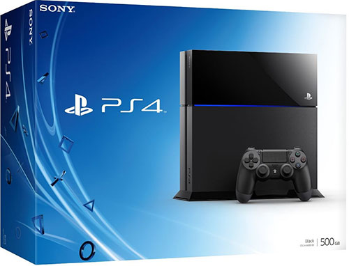 Sony Playstation 4 500 GB Fekete