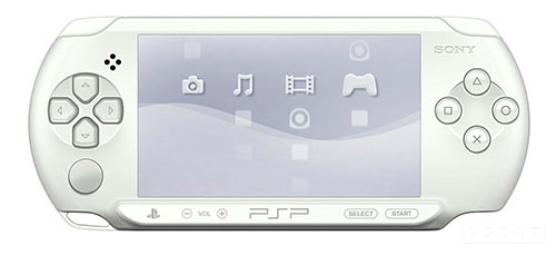 Sony Playstation Portable (PSP) Street White
