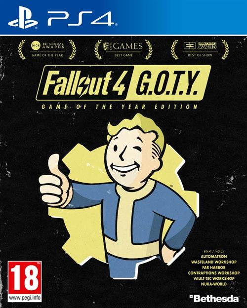 Fallout 4 Game Of The Year Edition - PlayStation 4 Játékok
