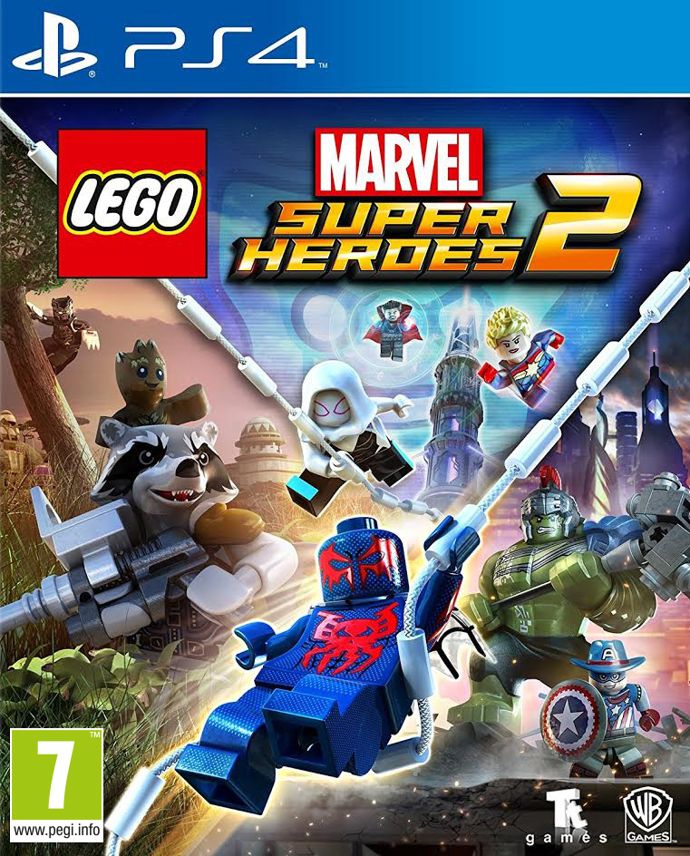 Lego Marvel Super Heroes 2 - PlayStation 4 Játékok