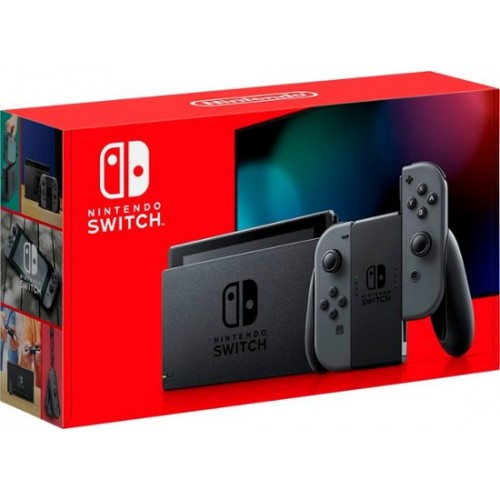 Nintendo Switch Neon Red and Neon Blue Joy Con