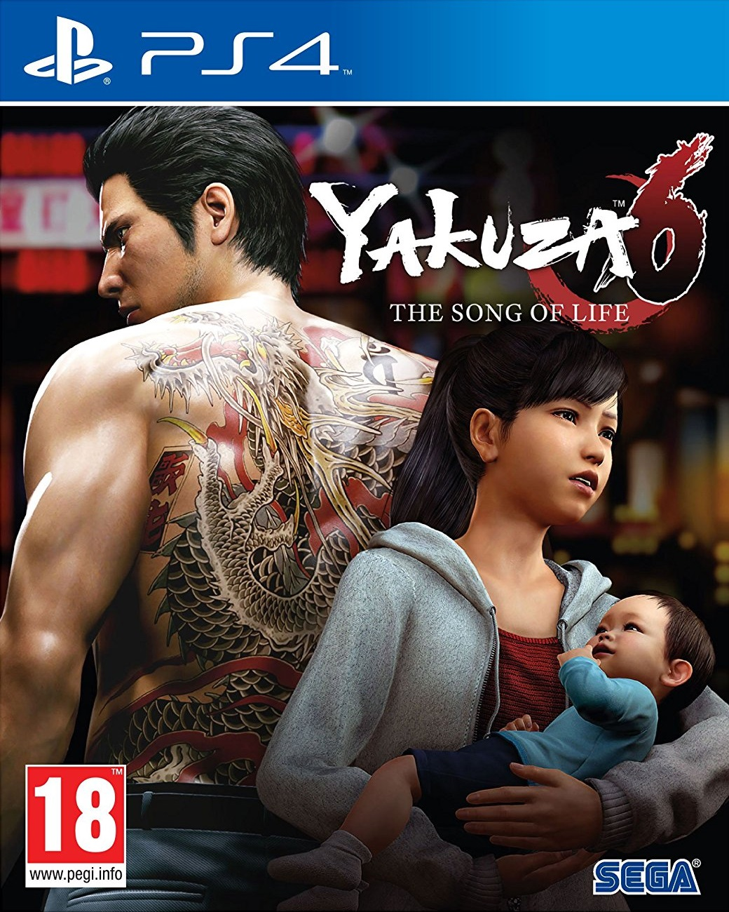 Yakuza 6 The Song Of Life Essence Art Edition