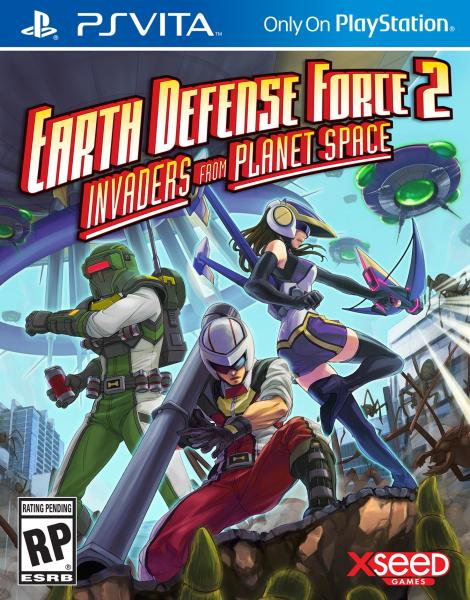 Earth Defense Force 2 Invaders from Planet Space