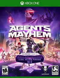 Agents of Mayhem Day 1 Edition  - Xbox One Játékok