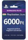 PlayStation Network Card 6000 HUF