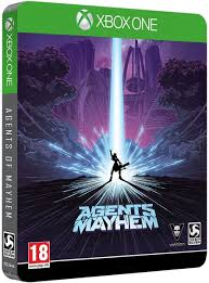 Agents of Mayhem Limited Steelbook Edition