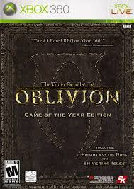The Elder Scrolls IV Oblivion Game of the Year Edition - Xbox 360 Játékok