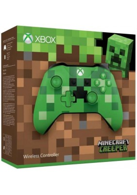 Microsoft Xbox One Wireless Controller Minecraft Creeper