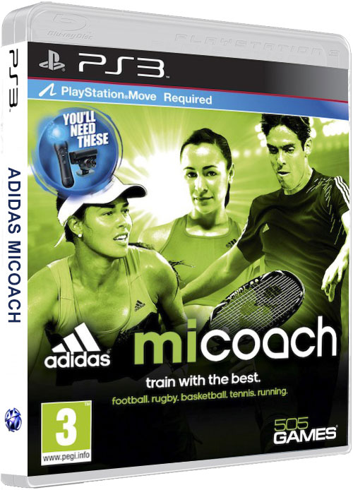 Adidas Micoach PS3 Move