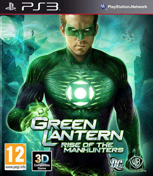 Green Lantern Rise of The Manhunters - PlayStation 3 Játékok