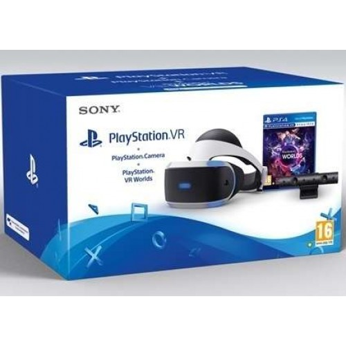 Playstation VR + PlayStation Camera V2 + PlayStation VR Worlds