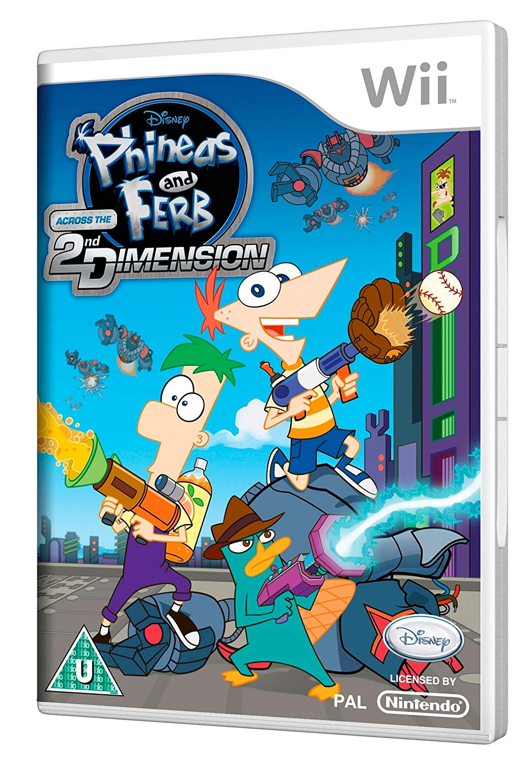 Disney Phineas and Ferb Across the 2nd Dimension