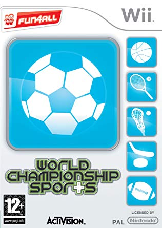 World Championship Sports - Nintendo Wii Játékok