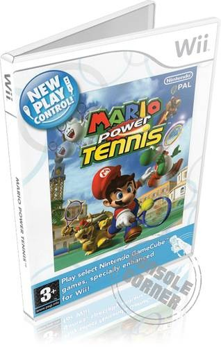 New Play Control Mario Power Tennis - Nintendo Wii Játékok