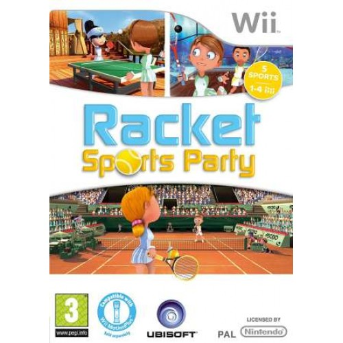 Racket Sports Party - Nintendo Wii Játékok