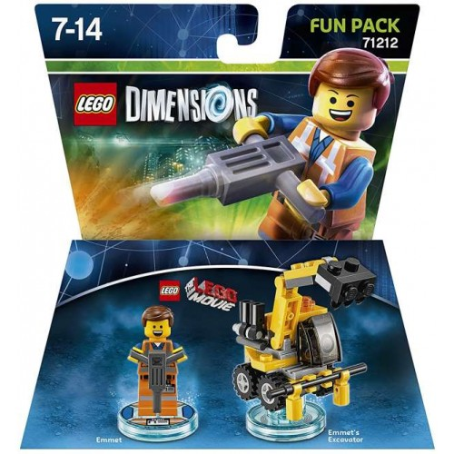 LEGO Dimensions Fun Pack 71212 LEGO Movie Emmet
