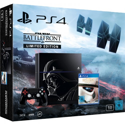 PlayStation 4 1 TB Star Wars Battlefront Limited Edition