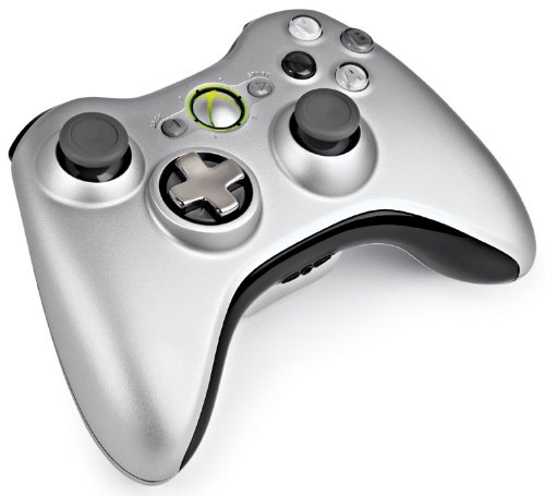 Xbox 360 Wireless Controller Ezüst