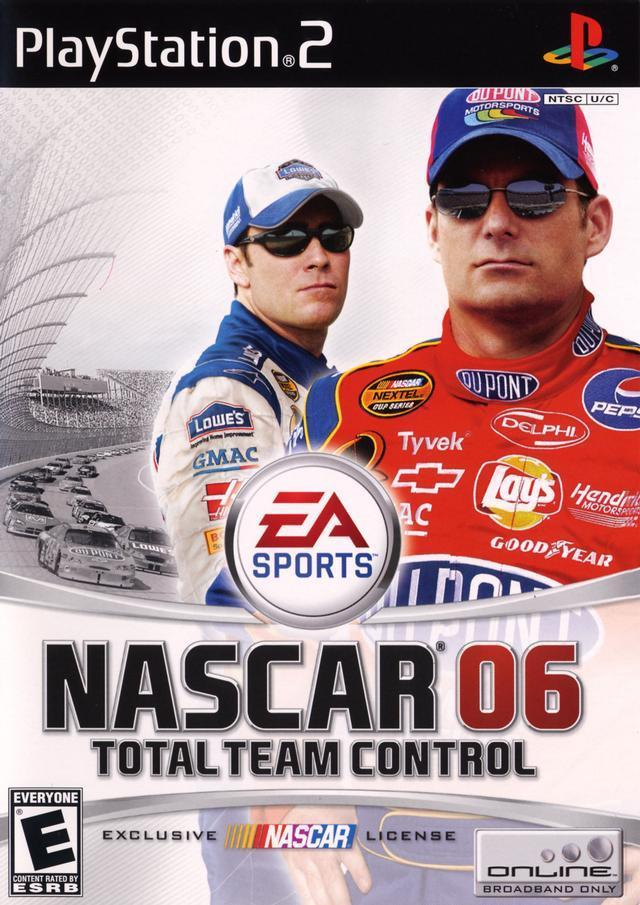 NASCAR 06 Total Team Control - PlayStation 2 Játékok