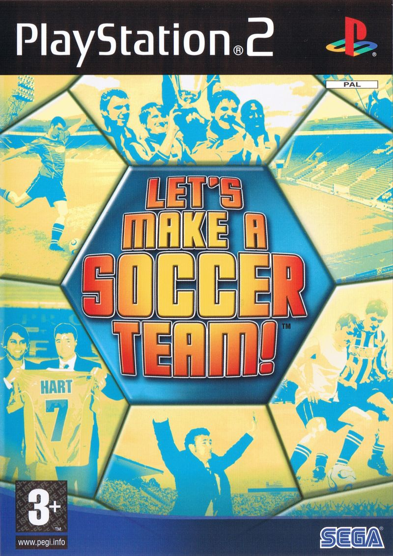 Lets Make A Soccer Team!  - PlayStation 2 Játékok