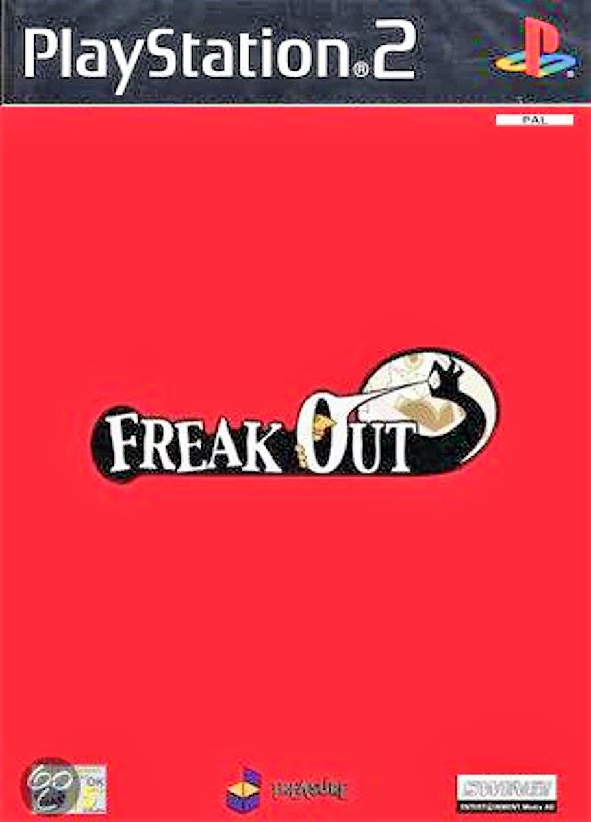 Freak Out - PlayStation 2 Játékok