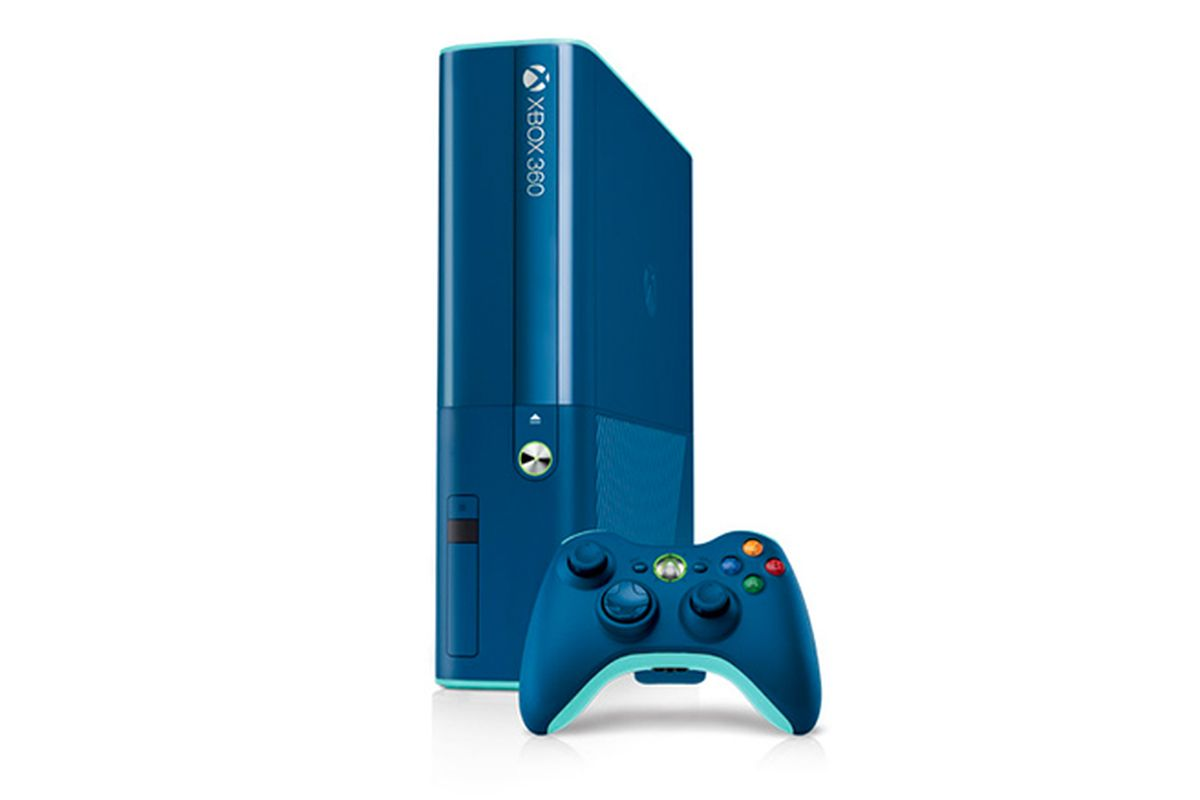 Xbox 360 500 GB E Slim Limited Blue Edition