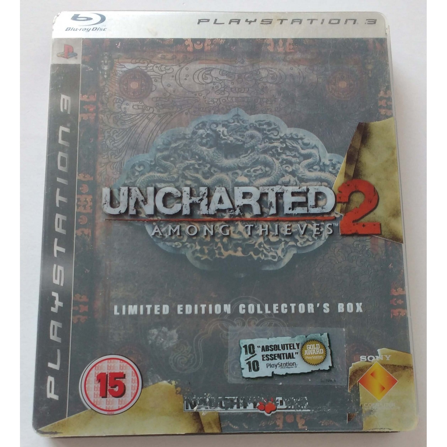 Uncharted 2 Among Thieves Steelbook - PlayStation 3 Játékok