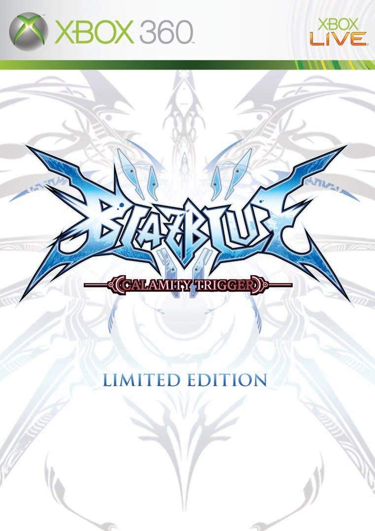 Blazblue Calamity Trigger Limited Edition