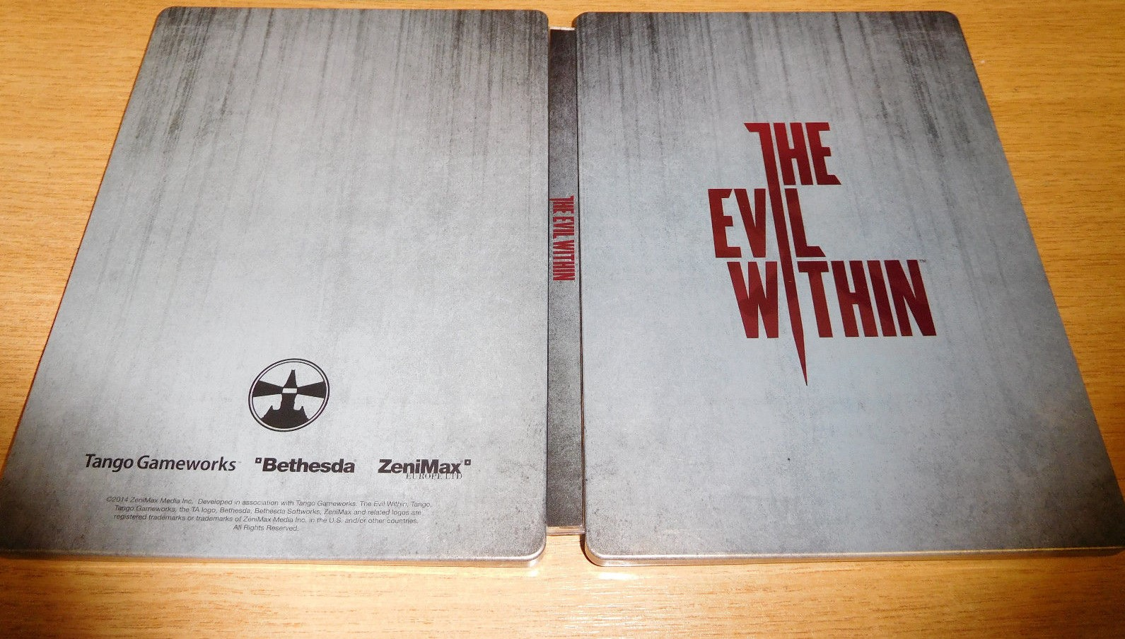 The Evil Within Steelbook