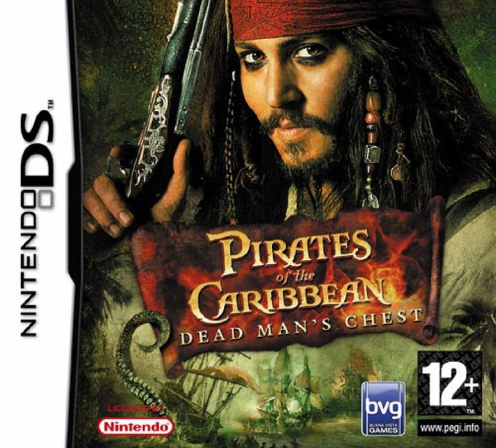Disney  Pirates of The Caribbean Dead Mans Chest