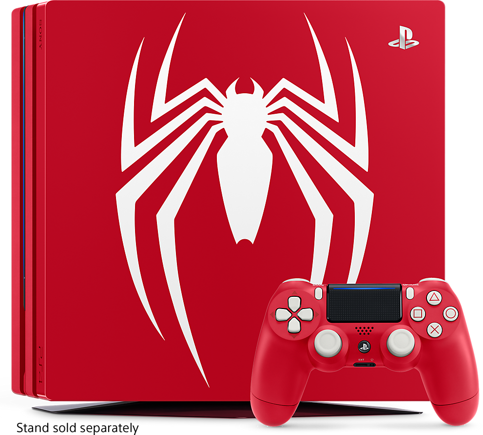Sony Playstation 4 Pro (1TB) Limited Edition Spiderman