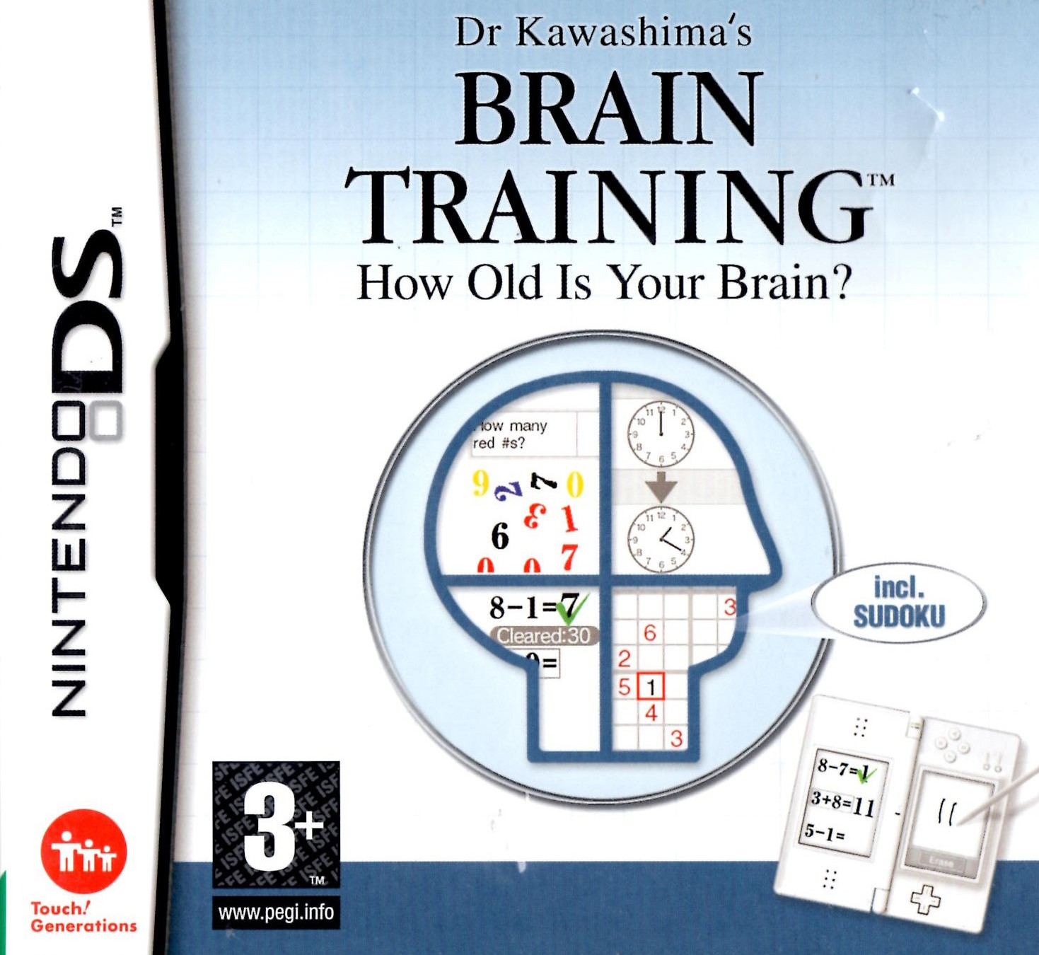 Dr Kawashimas Brain Training How Old Is Your Brain?
