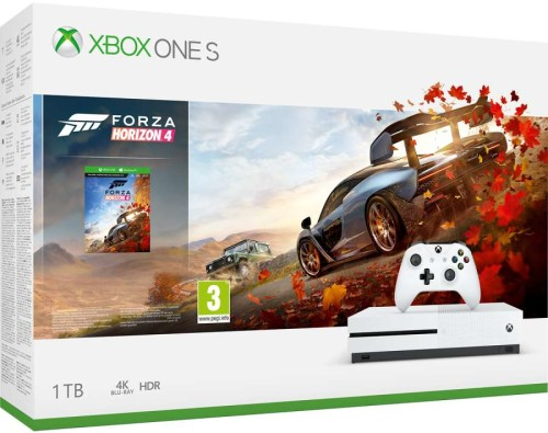 Xbox One S 1 TB Forza Horizon 4 Bundle