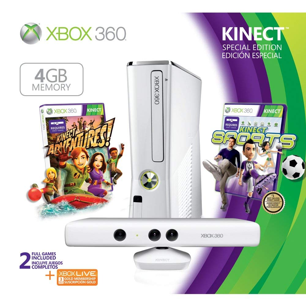 XBOX 360 Slim 250GB Kinect Special Edition Bundle