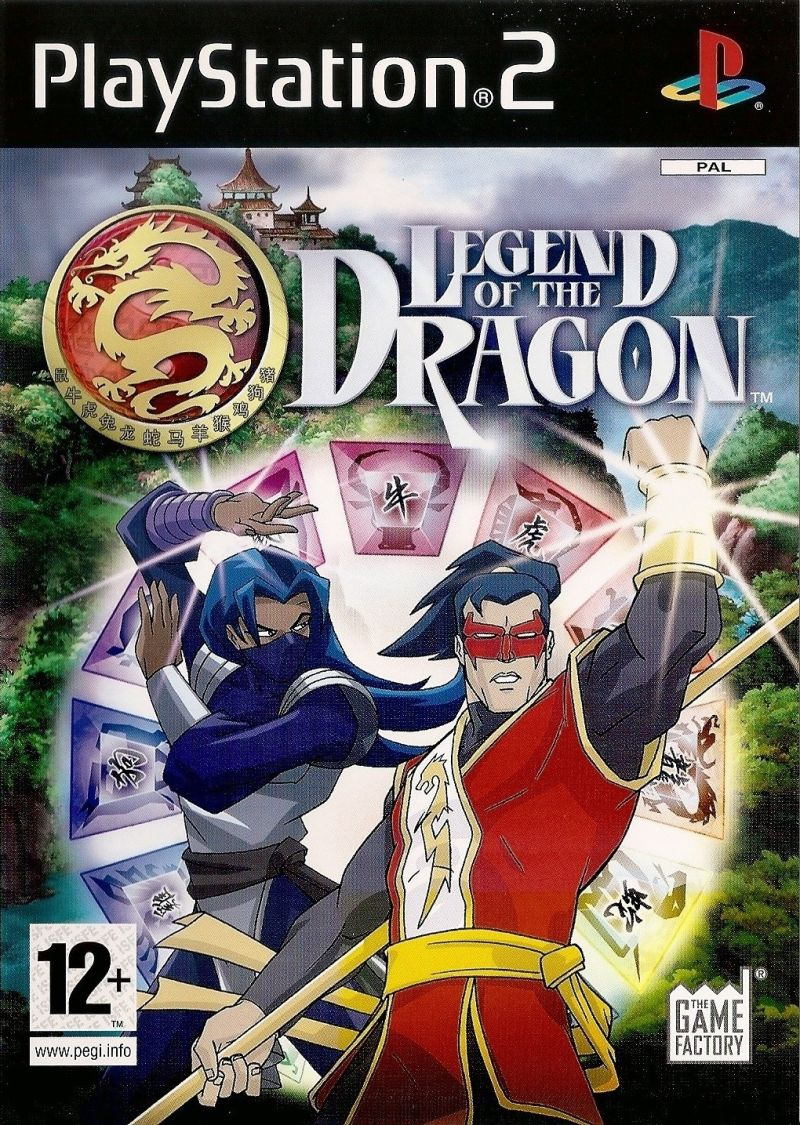 Legend of the Dragon - PlayStation 2 Játékok