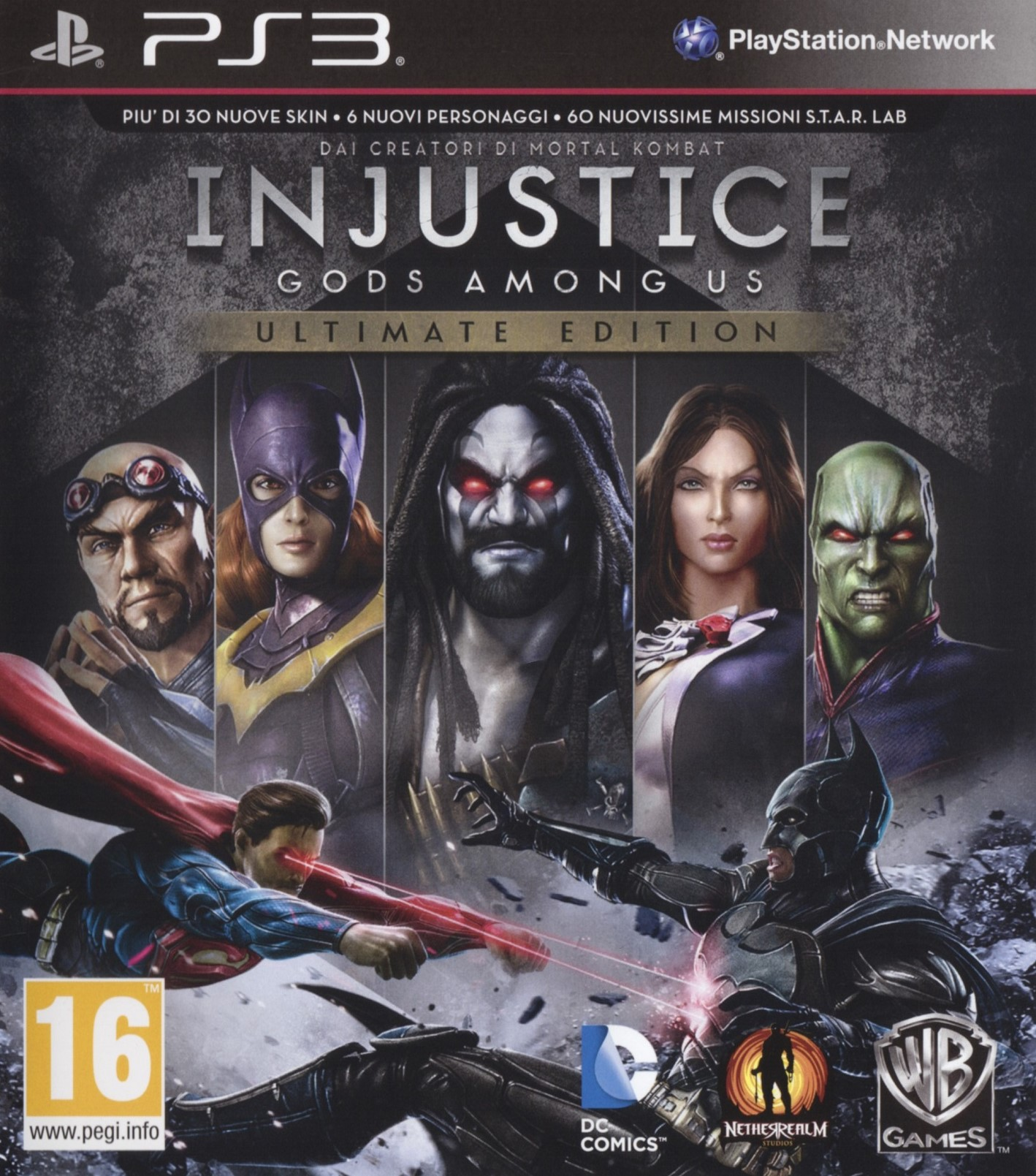 Injustice Gods Among Us Ultimate Edition - PlayStation 3 Játékok