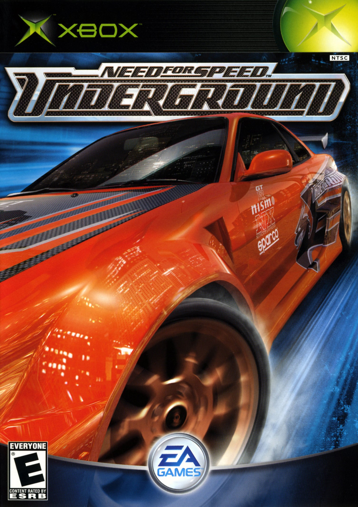 Need for Speed Underground - Xbox Classic Játékok