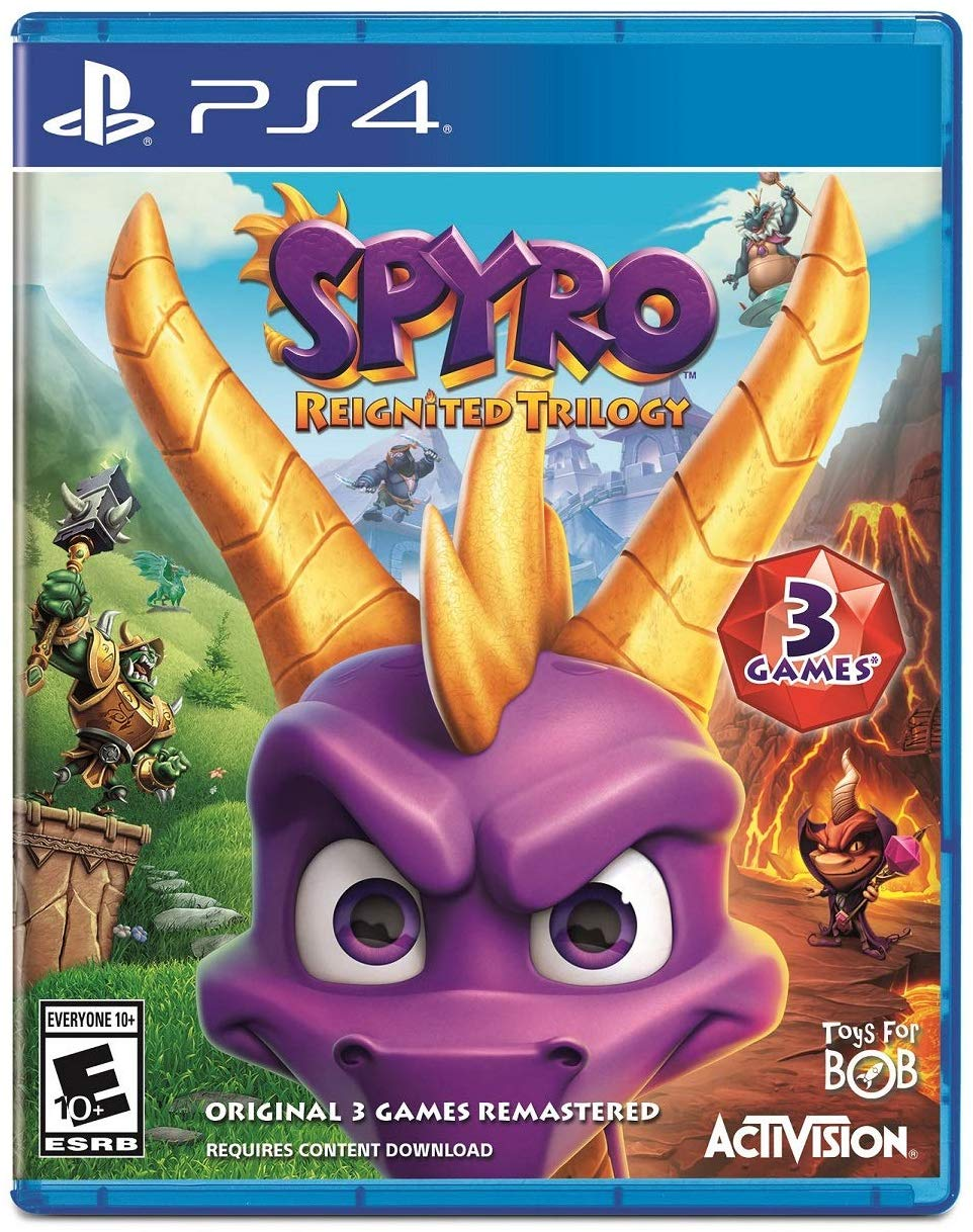Spyro Reignited Trilogy  - PlayStation 4 Játékok