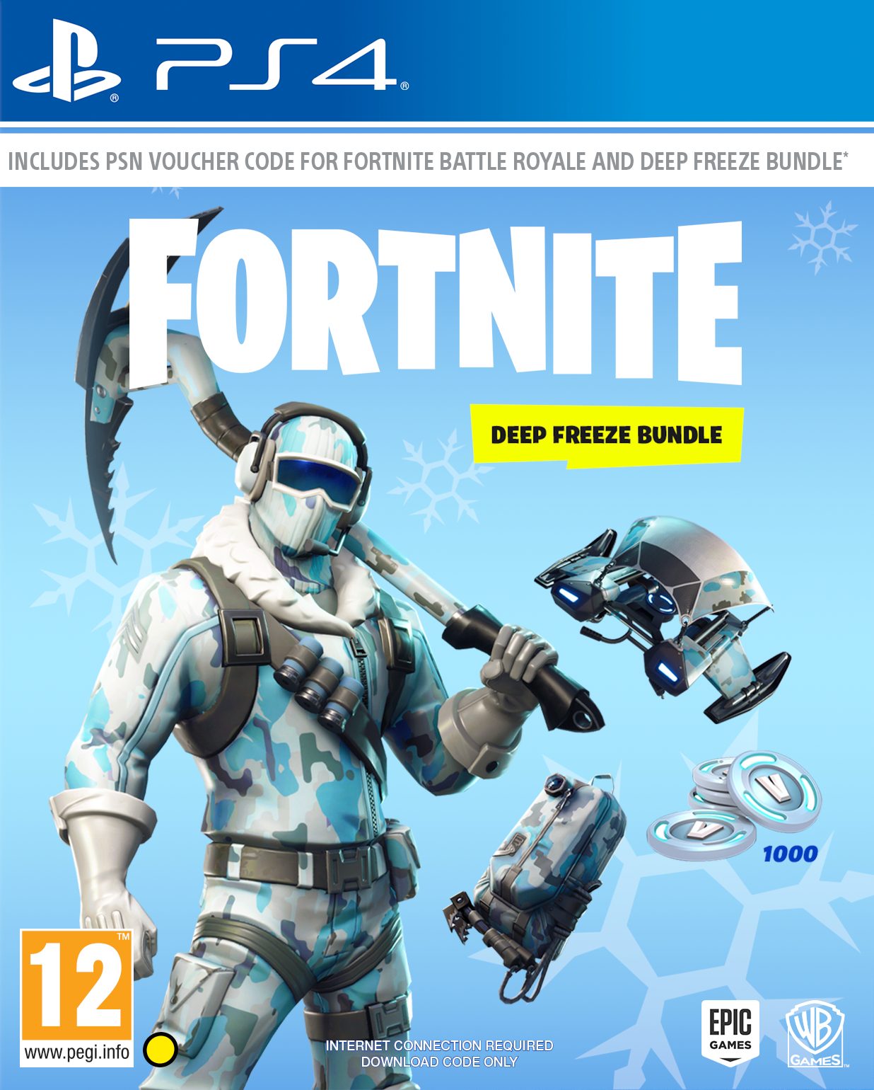 Fortnite Deep Freeze Bundle - PlayStation 4 Játékok