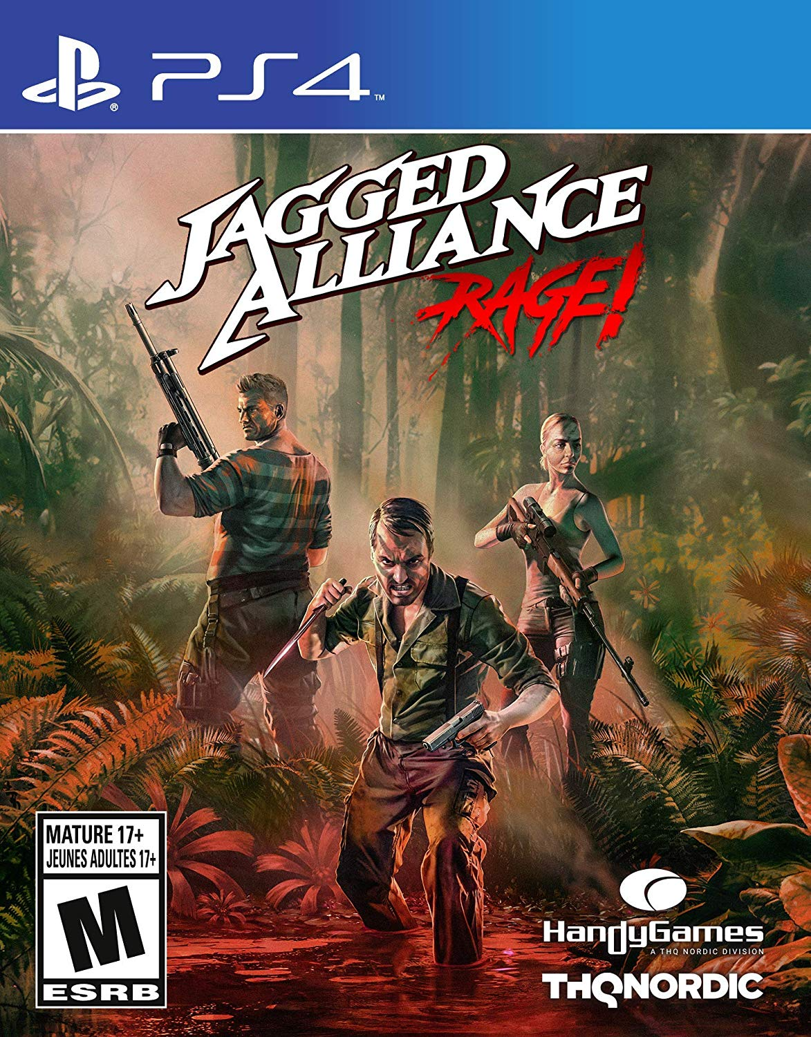 Jagged Alliance Rage - PlayStation 4 Játékok