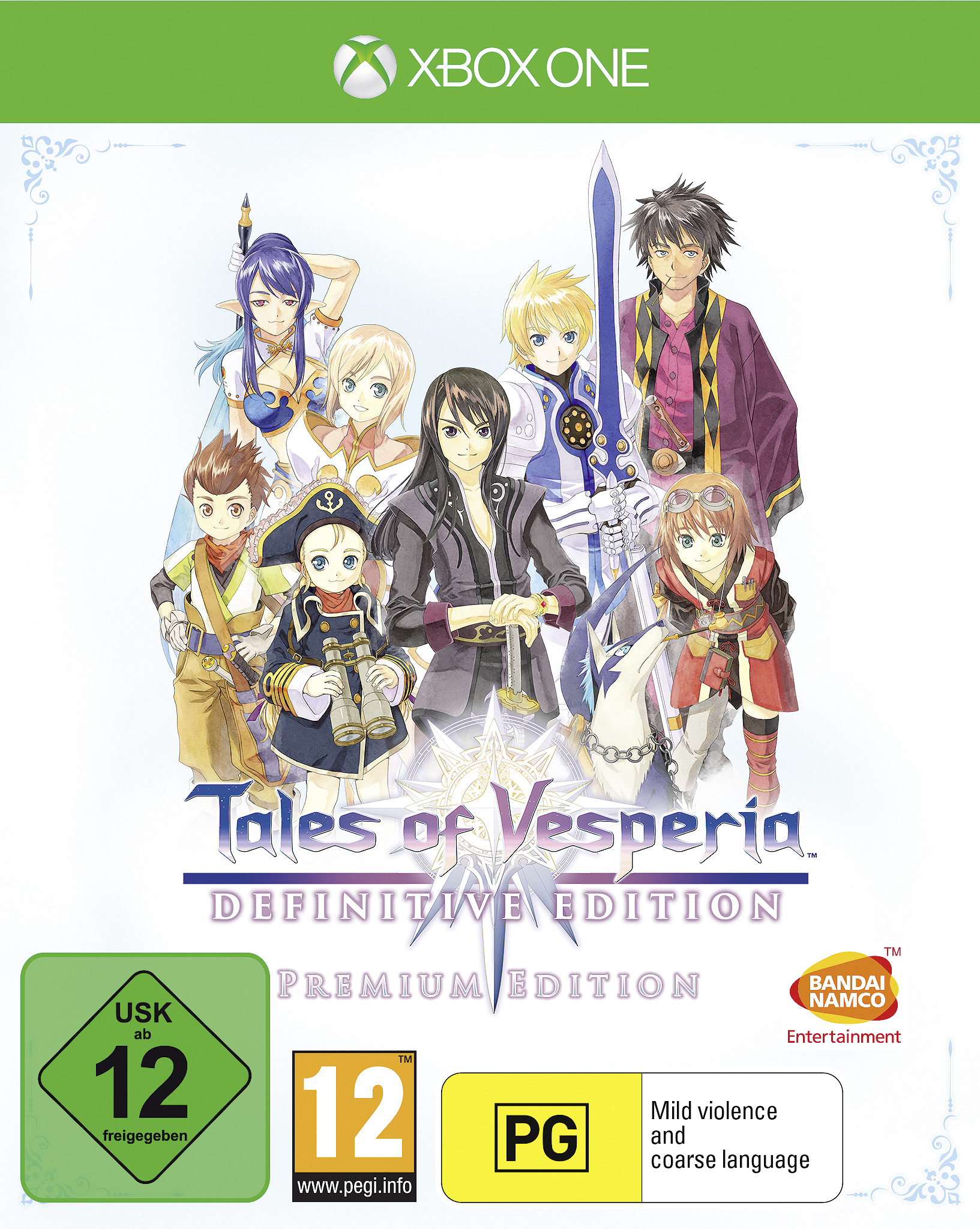 Tales of Vesperia Definitive Edition - Xbox One Játékok