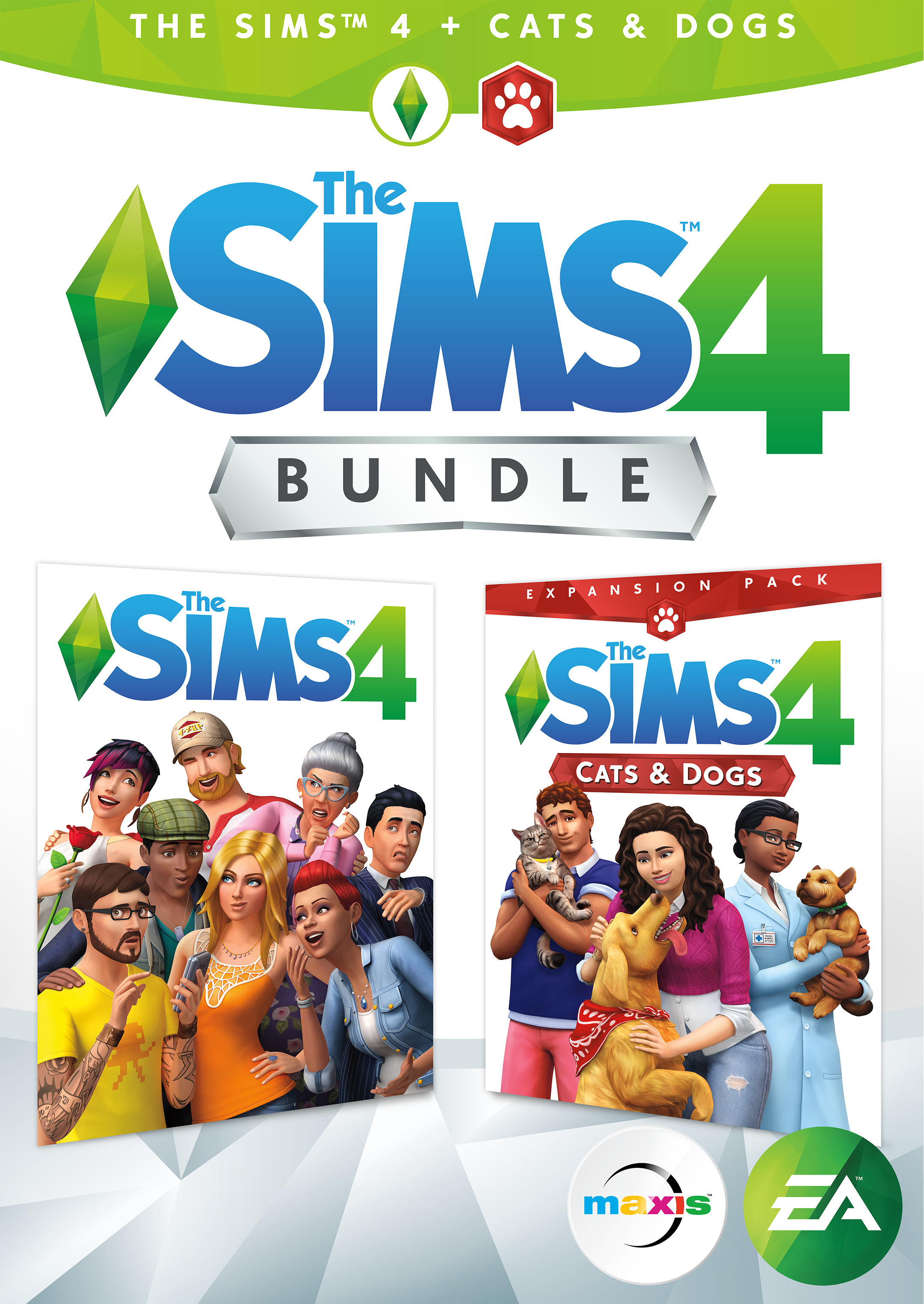 The Sims 4 Plus Cats & Dogs Bundle