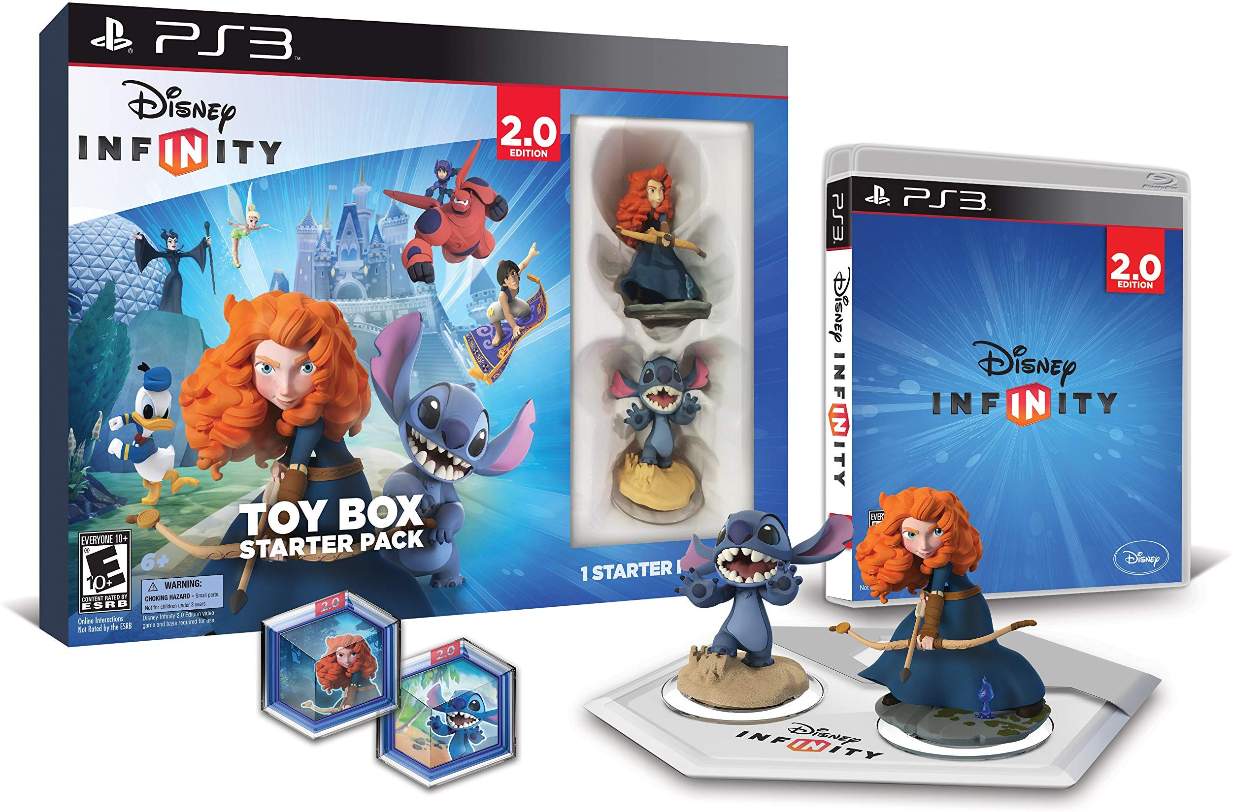 Disney Infinity 2.0 Disney Toy Box Starter Pack