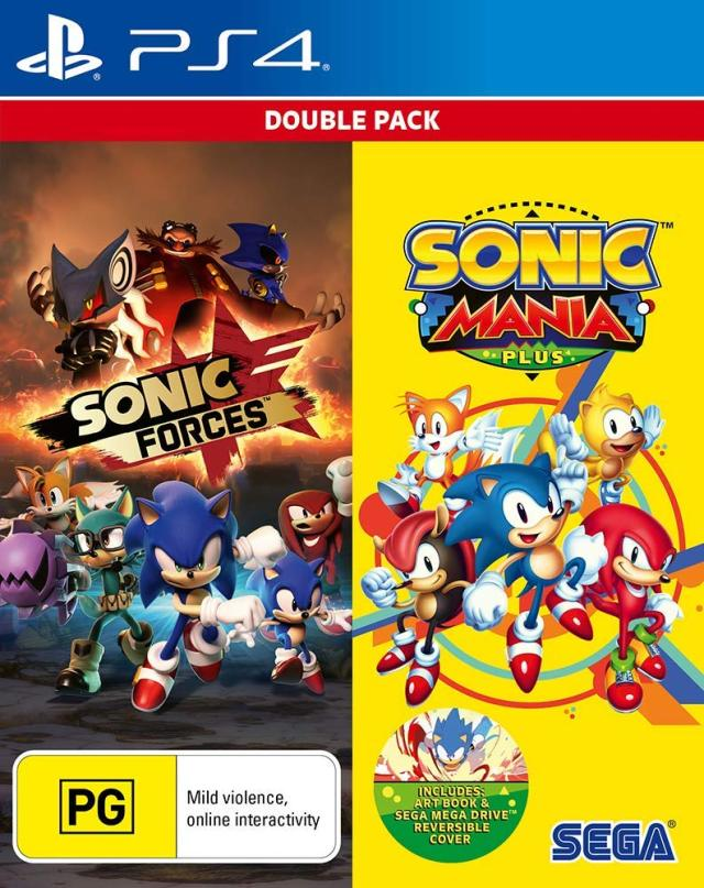 Sonic Forces & Sonic Mania Plus Double Pack - PlayStation 4 Játékok