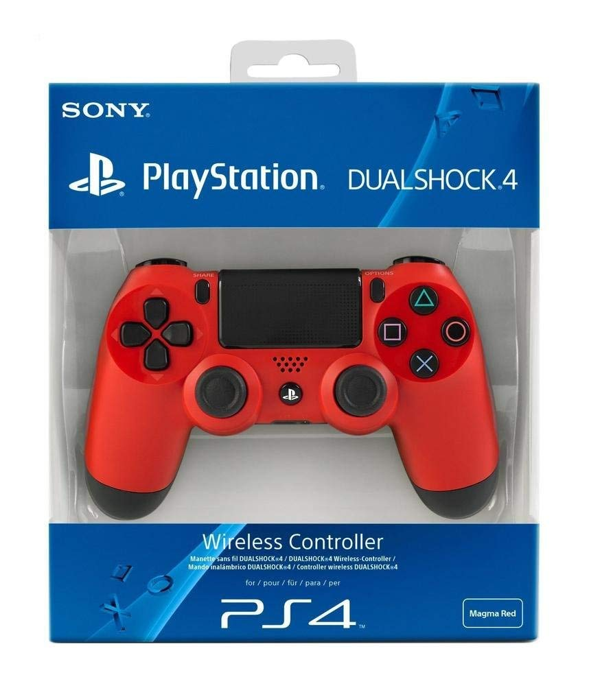 Sony DualShock 4 Wireless Controller Magma Red