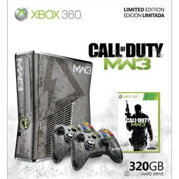 Xbox 360 Slim 320GB Call of Duty Modern Warfare 3 Limited Edition