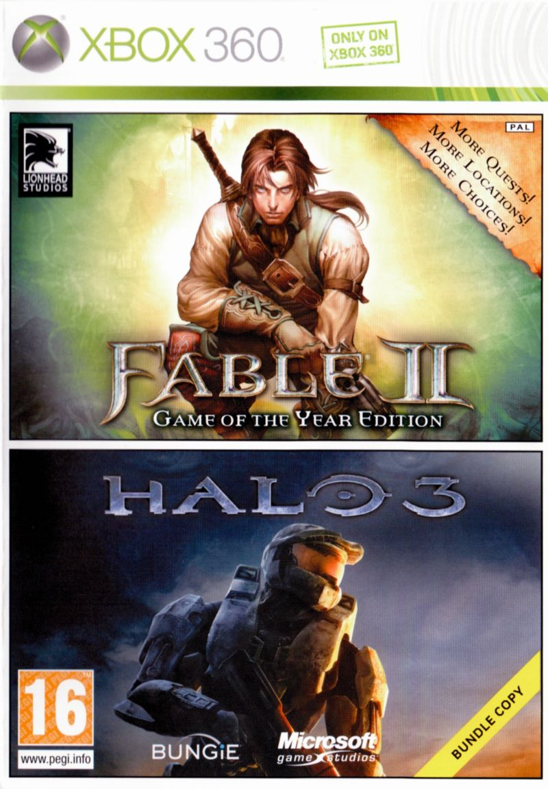 Fable 2 + Halo3