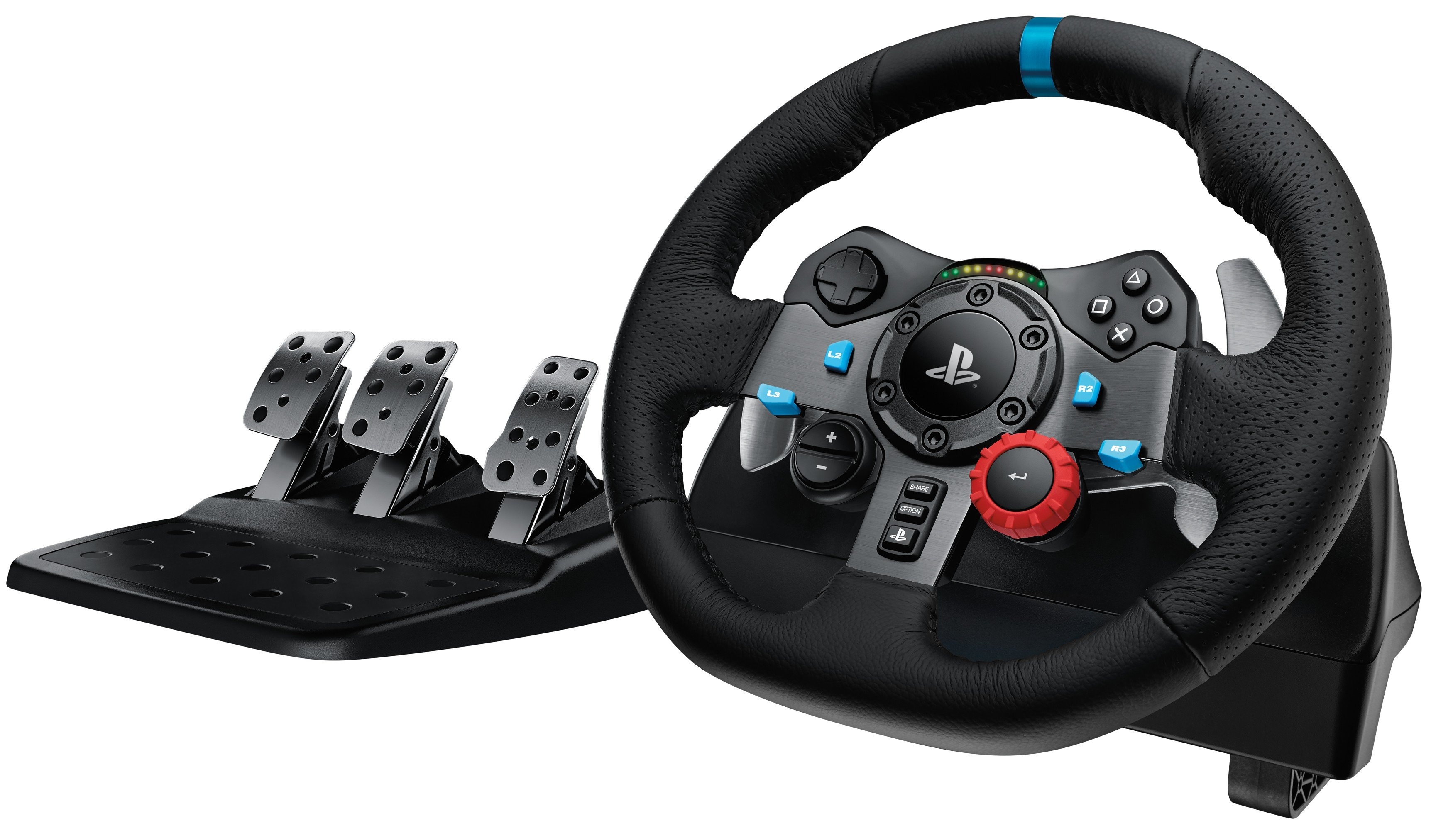 Logitech G29 Driving Force Racing Wheel (gyári garancia 2021.11.19-ig)