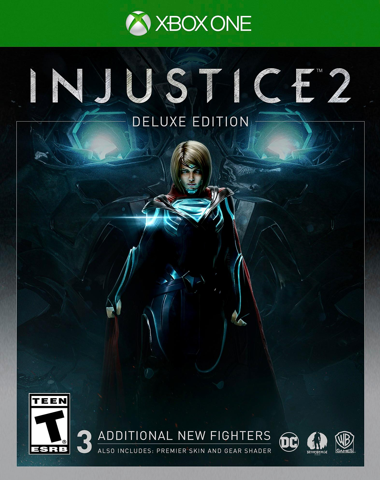 Injustice 2 Deluxe Edition - Xbox One Játékok